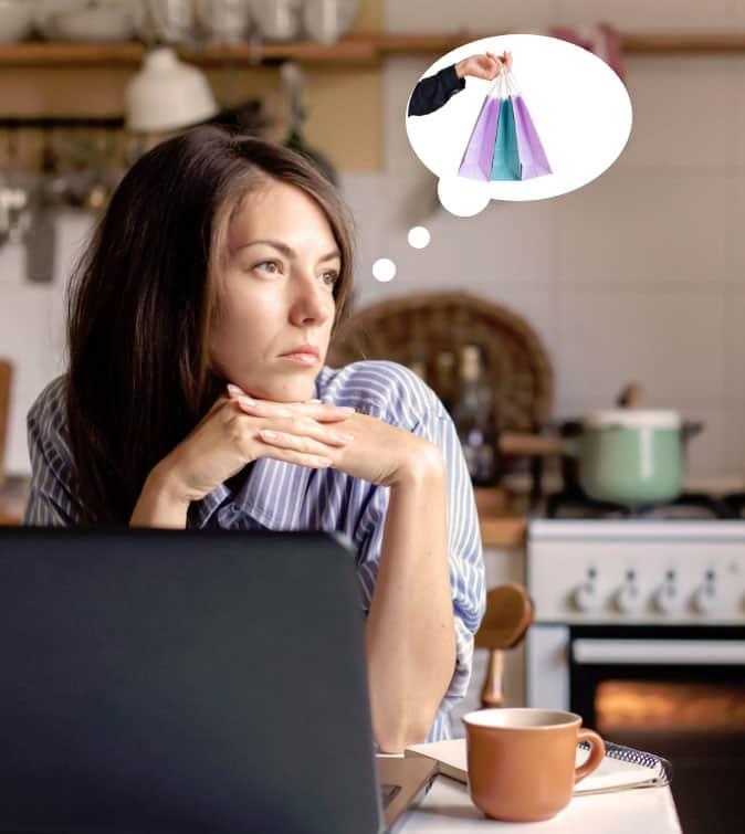 Frustration achat boutique en ligne